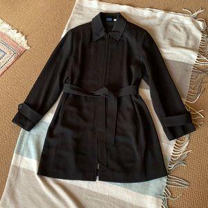 Women's Zipper Trench Coat